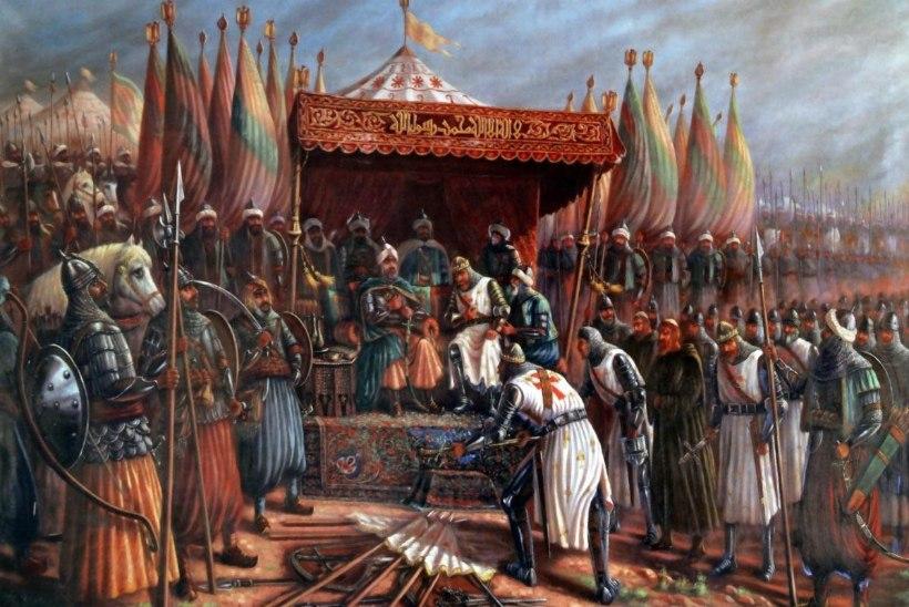 MINEVIKUHETK   4. juuli: väsinud ristisõdijaid said Saladinilt lüüa