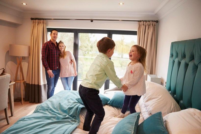 Viis kavalat nippi, kuidas lapsi lõbusamalt liikuma utsitada