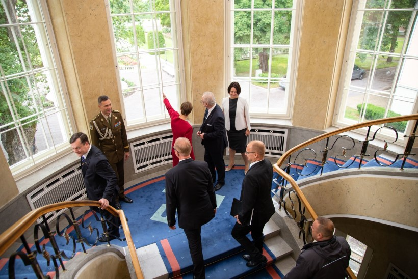 ÕL GALERII | Eesti ja Läti president arutasid ühtse õllepandi loomist