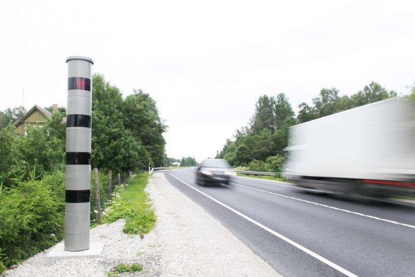 UURING KINNITAB: kiiruskaamerad muudavad liiklust tublisti turvalisemaks