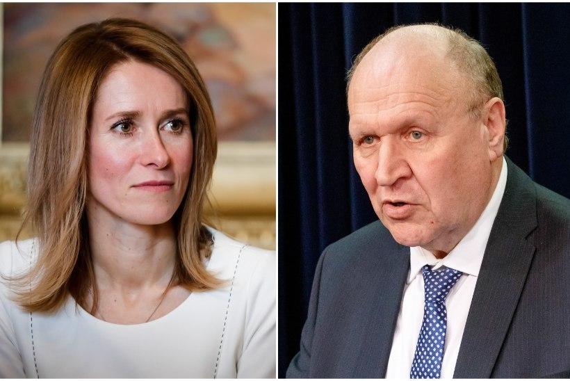Eesti elanikud usaldavad erakonnajuhtidest enim Kaja Kallast. Viimane, hapupiimane on Mart Helme
