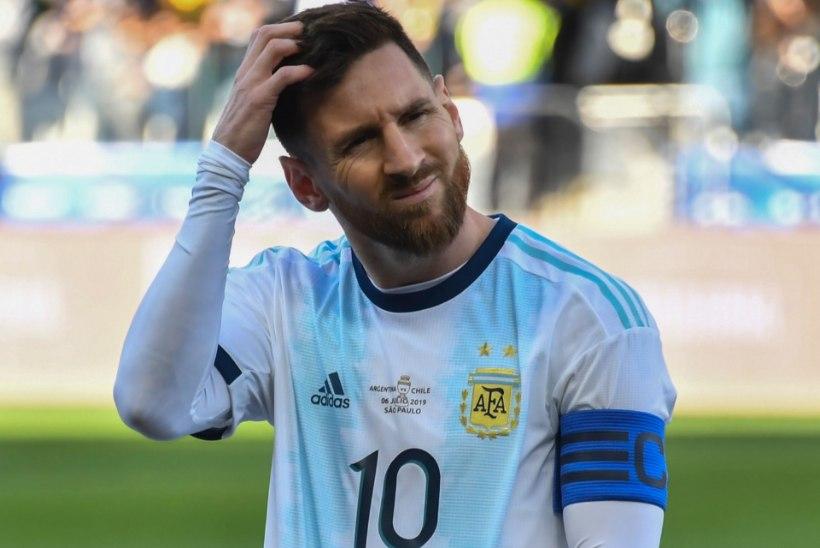 TOHOH! Lionel Messi ei mahtunud Copa America sümboolsesse koosseisu