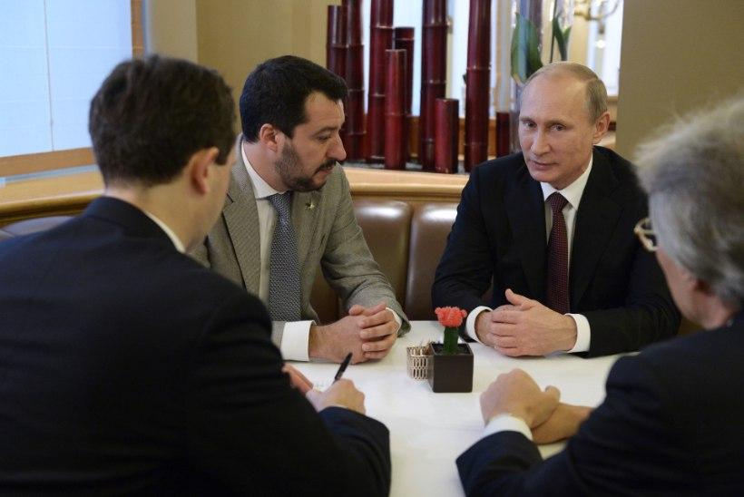 KUIDAS LUUA KREMLIMEELSEM UUS EUROOPA: Salvini nõunik pidas venelastega salaläbirääkimisi