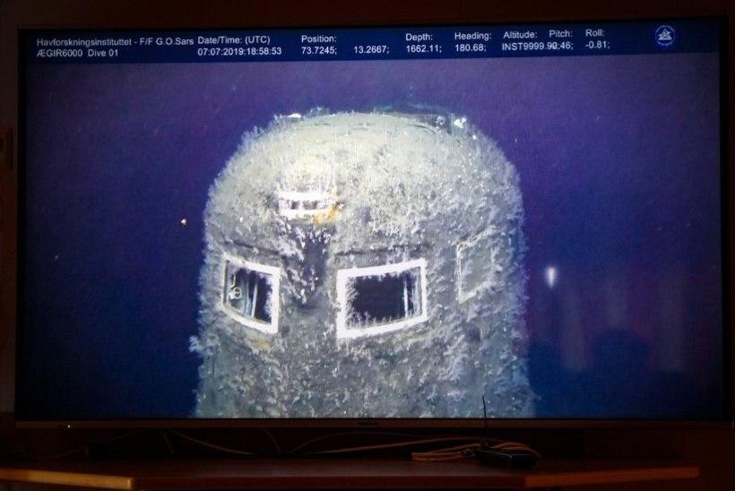 Norra merre uppunud Nõukogude allveelaevast lekib vette radioaktiivseid ühendeid