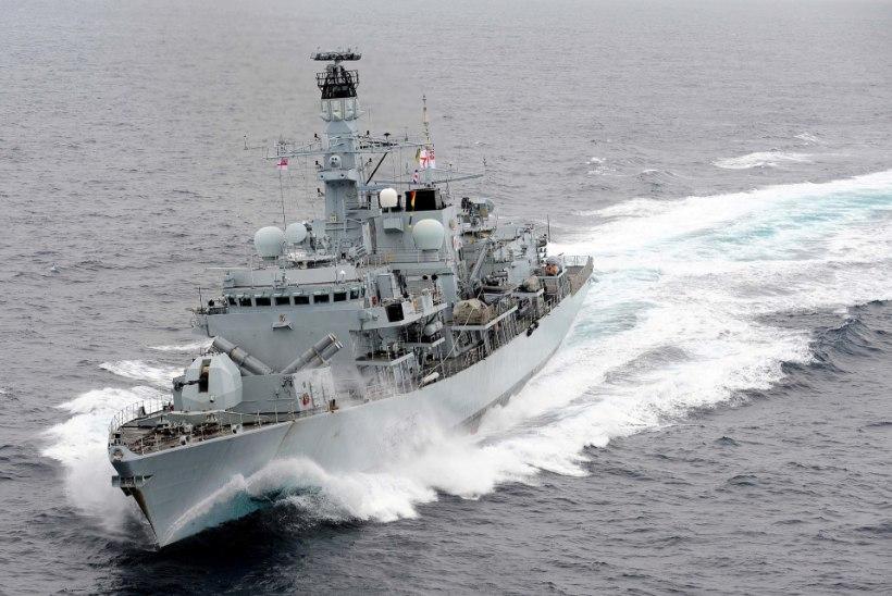 OHTLIK PINGEKASV: Iraan üritas kaaperdada Briti tankerit