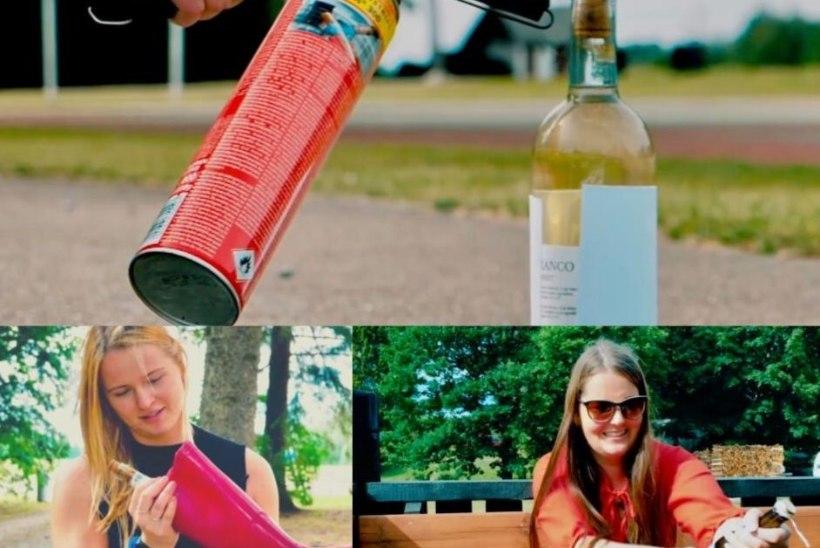 ÕL VIDEO   NAISED VERSUS PUDELIKORK: kuidas punn ilma avajata maha saada?