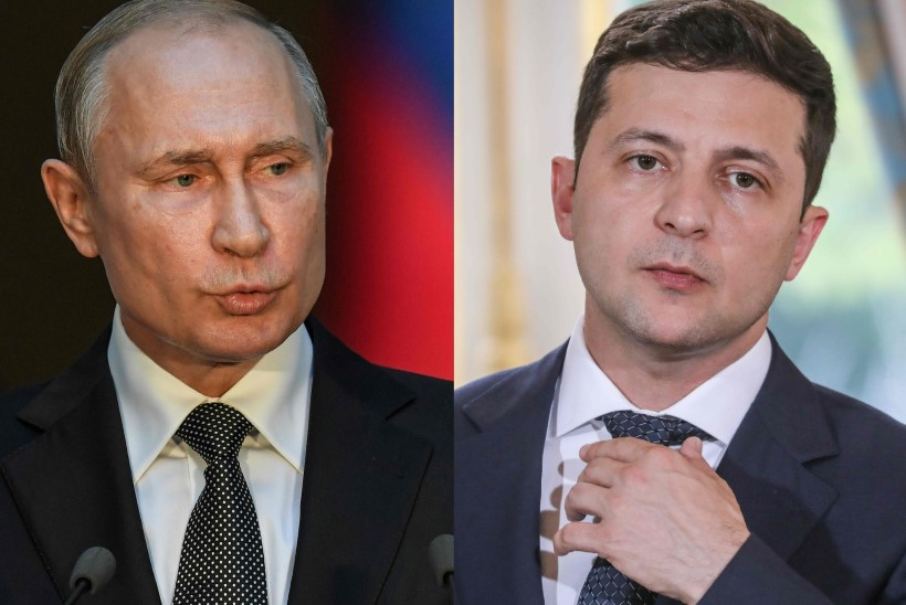 ESIMENE KONTAKT: Ukraina president Zelenskõi helistas Putinile