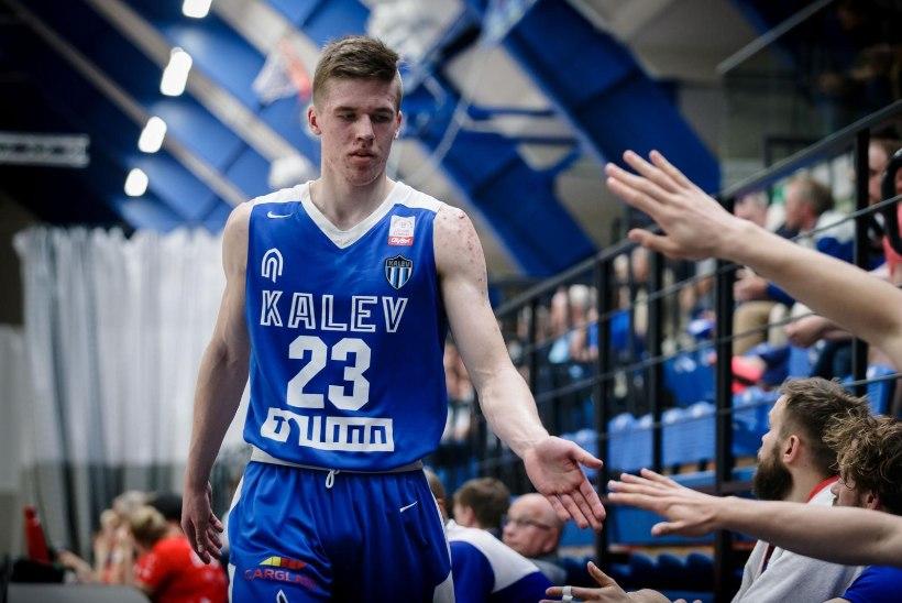 Eesti korvpalliliiga üks andekamaid noori vahetas Kalevi TalTechi vastu