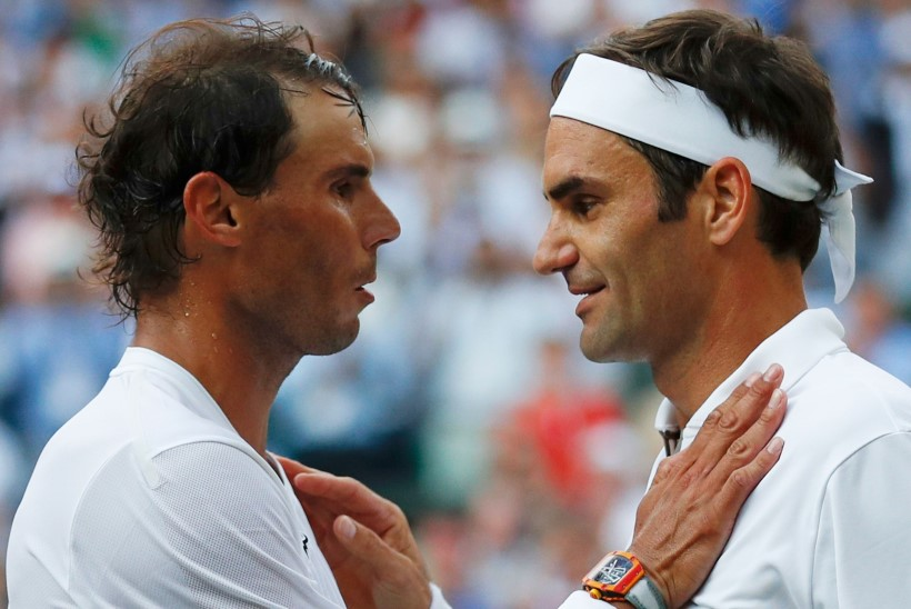 Legendid Roger Federer ja Rafael Nadal pakkusid Wimbledoni poolfinaalis põneva lahingu