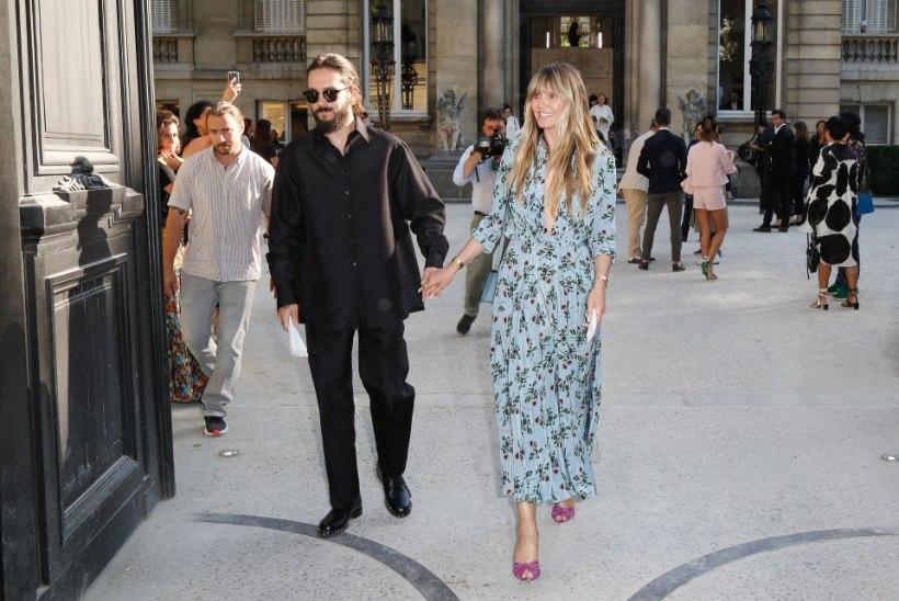 Hästi hoitud saladus: supermodell Heidi Klum sõudis juba aasta alguses abieluranda
