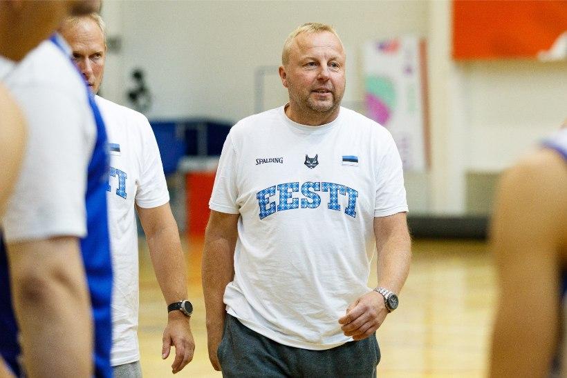 SUUR VÕIT | Aivar Kuusmaa juhendatav Eesti U20 korvpallikoondis alistas vastase 49 punktiga
