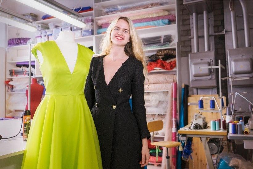 VÄGEV! Kleidikuninganna Linna Stein kinnitab kanda Prantsusmaa moemaailmas
