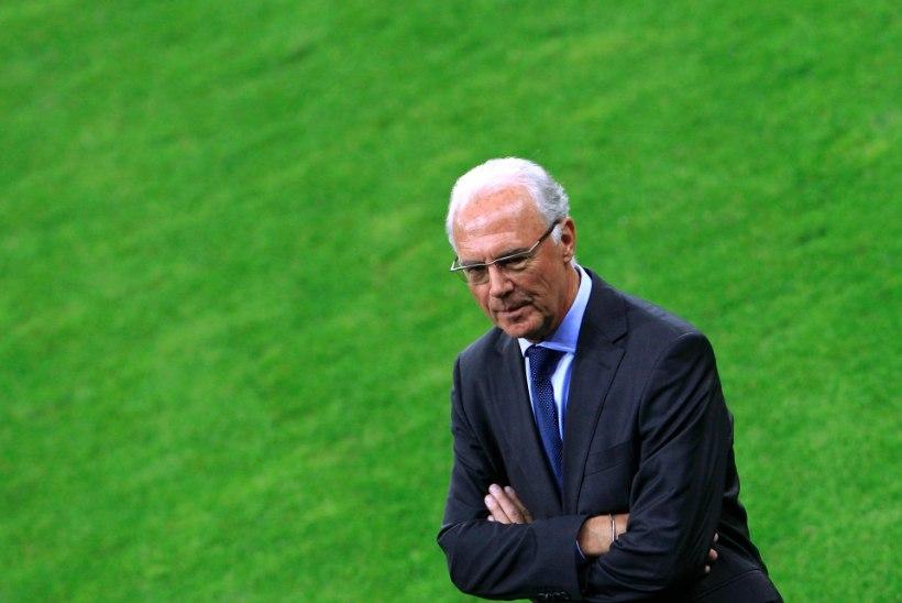 Osaliselt nägemise kaotanud Beckenbauer ajakirjanikule: polegi ju hullu, sest nüüd näen teid vähem
