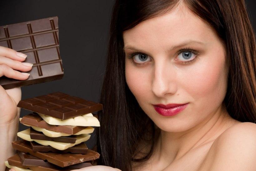 MAGUSAGA VORMI: šokolaad aitab sportlikku vormi parandada