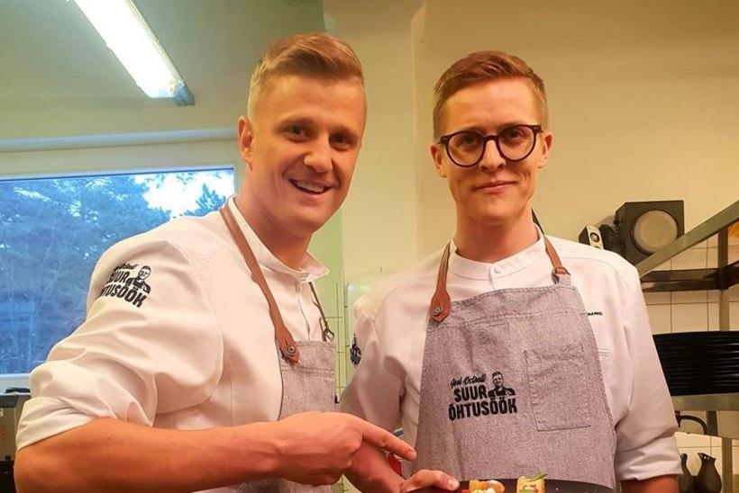 Tippkokk Joel Ostrat hakkab uues TV3 saates kohalikke kuulsusi kokkadeks õpetama