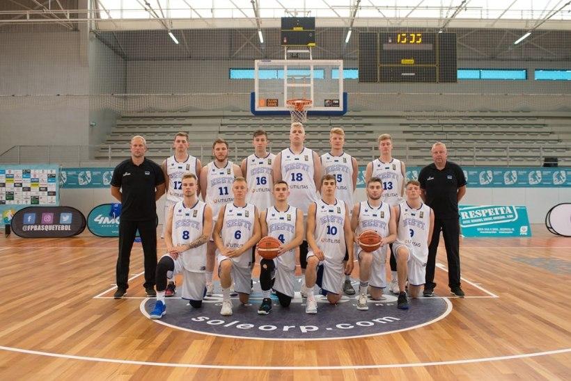 Eesti korvpallinoored said EMil ülisuure võidu, kuid edasipääsulootused pole kiita