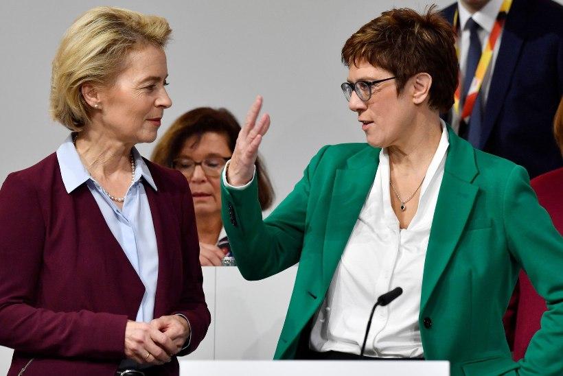 ÜLLATUS: Saksamaa uueks kaitseministriks sai CDU liider Annegret Kramp-Karrenbauer