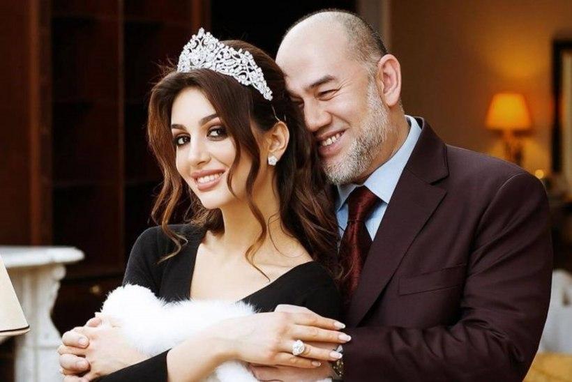 Malaisia endine kuningas ja Vene miss läksid pärast lapse sündi lahku