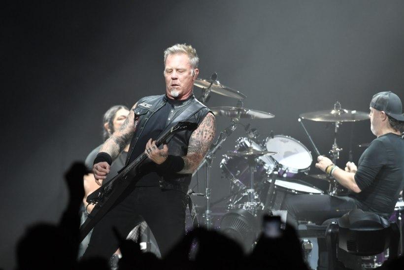 Vau! Metallica annetas Soome vähekindlustatud peredele 55 000 eurot
