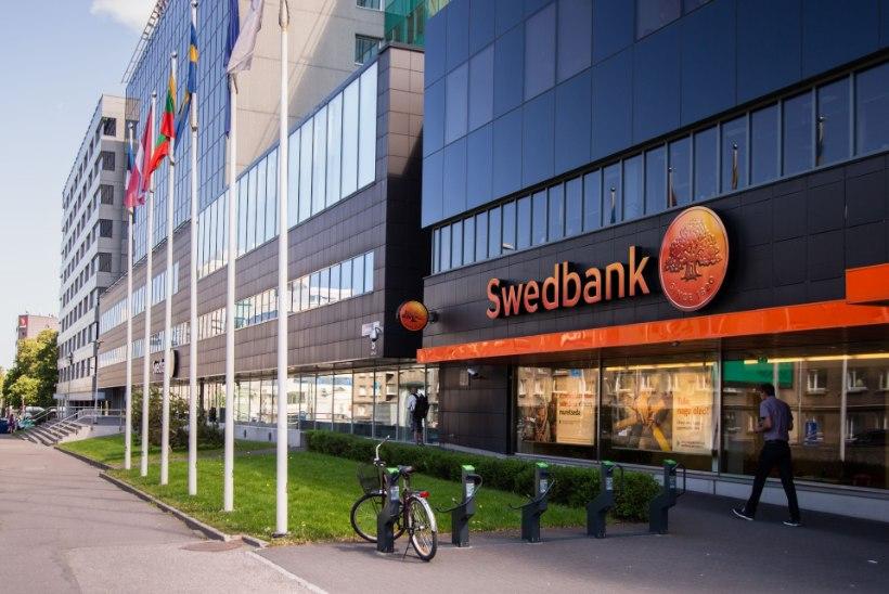 Swedbank teenis Eestis viimase poolaastaga ligi 100 miljonit eurot kasumit