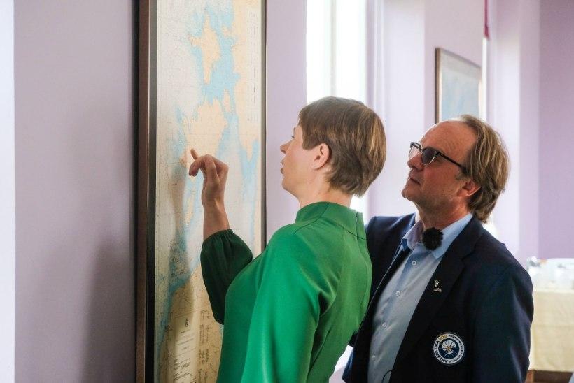 FOTOD | President saatis Admiral Bellingshauseni teele Antarktika poole