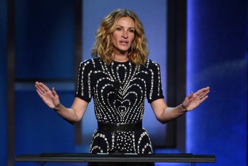 Julia Robertsi reaktsioon Emmy nominatsioonita jäämisele on võrratu!