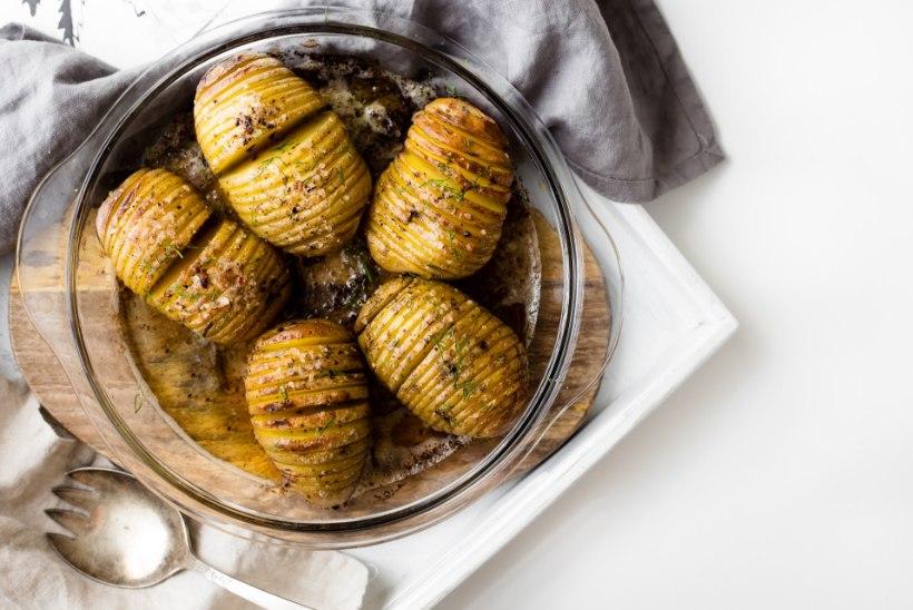 RETSEPTINURK | Tõeliselt maitsev suutäis ehk Hasselbacki kartulid