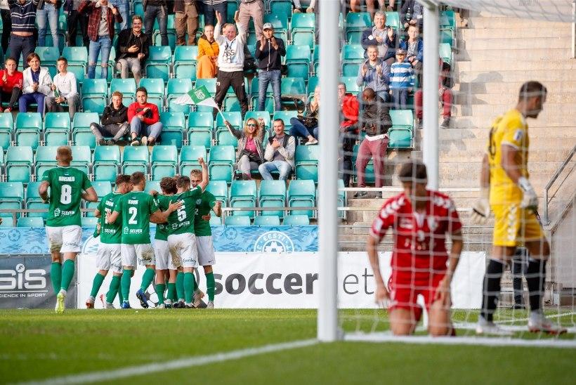 HIILGAV: FC Flora tegi võõrsil 2:2 viigi ja pääses Euroopa liigas edasi