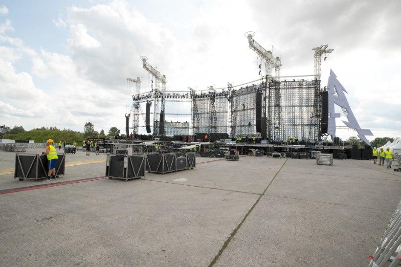 KOGUNEB 60 000 FÄNNI! Turvatiimi juht: tulge Metallica kontserdile ajavaruga ja jalgsi