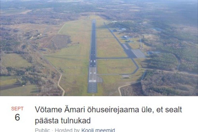 Kaitsevägi hoiatab Ämari lennubaasile tormi jooksmise eest: vajadusel on valvuritel õigus relva kasutada