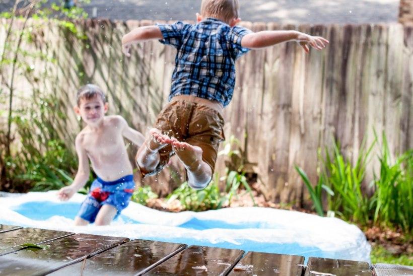 Start veemängudele! 10 lahedat ideed, kuidas ennast kuumal suvepäeval jahutada