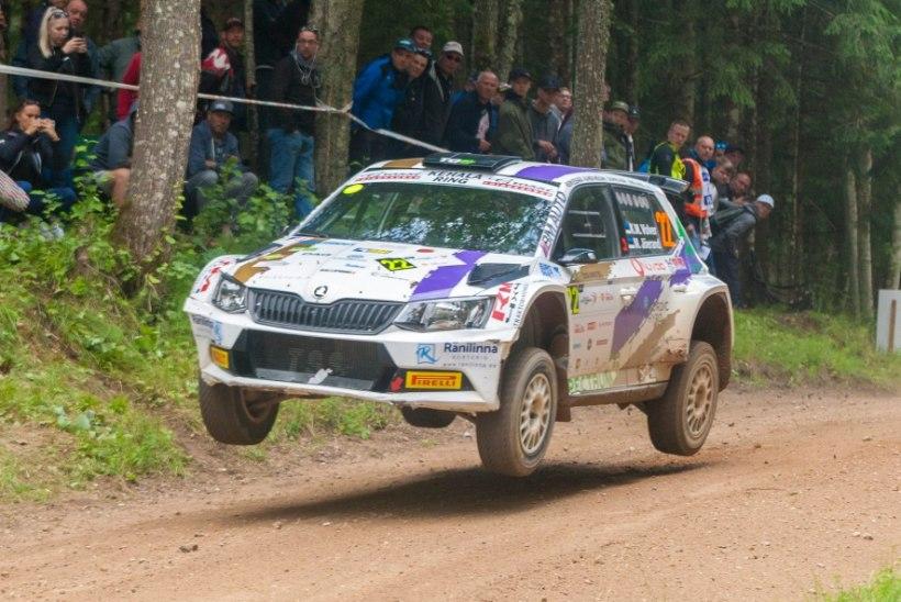 KARM! Veel üks Rally Estonial osalenu peab seljavigastuse tõttu võistluspausi tegema