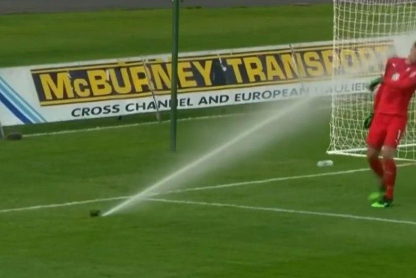 KOOMILINE VIDEO | Malmö 0, veeprits 1! Euroopa Liiga eelringis sai väravavaht korraliku peapesu