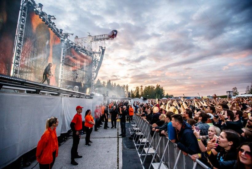 Mis müra? Tartlased talusid Metallica müristamist stoilise rahuga