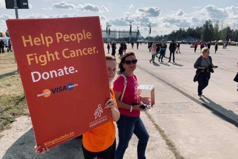 Metallica fännid annetasid vähiravifondile üle 8000 euro