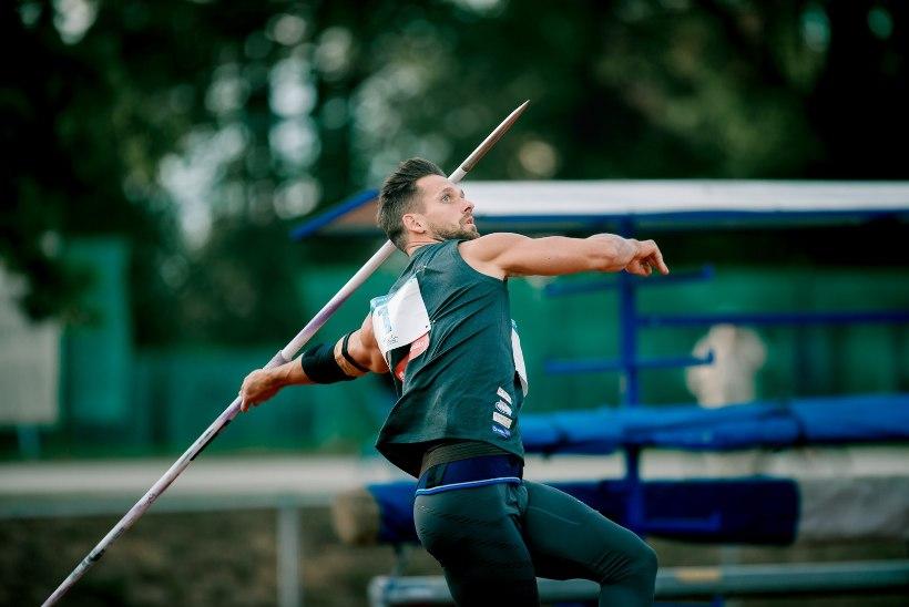 ÕL VIDEO   Oma silm on kuningas – kuidas paistab Magnus Kirdi visatud Eesti odaviske rekord 90.61 m igapäevastes vahemaades?