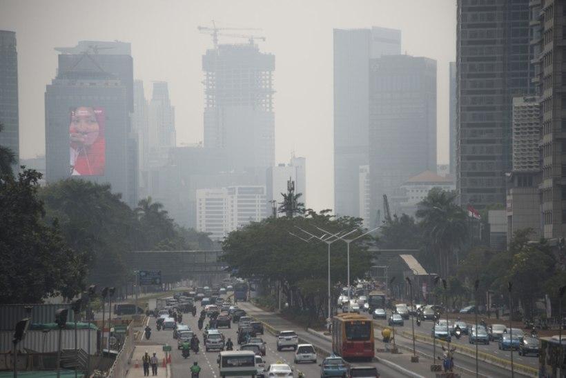 Jakarta elanikud kaebavad Indoneesia valitsuse saastunud õhu tõttu kohtusse