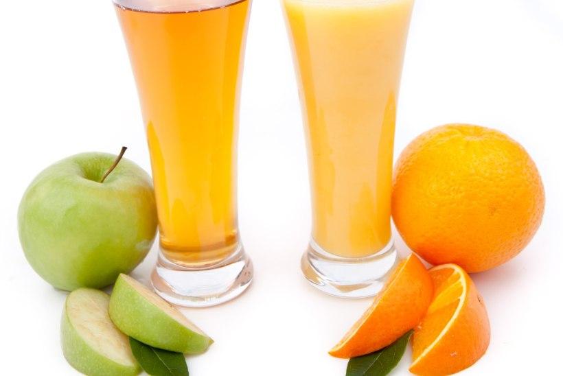 OSKA KARTA MAGUSAT JOOKI! Toitumisnõustaja soovitab valida mahla asemel puuvilja