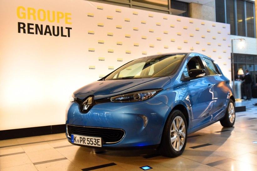 Renault Zoe astus Tesla Model 3 kandadele