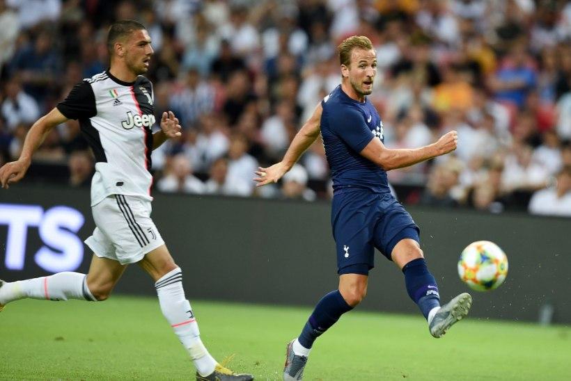 VIDEO | KESKJOONELT! Harry Kane virutas Juventuse vastu lisaminutitel imelise võiduvärava