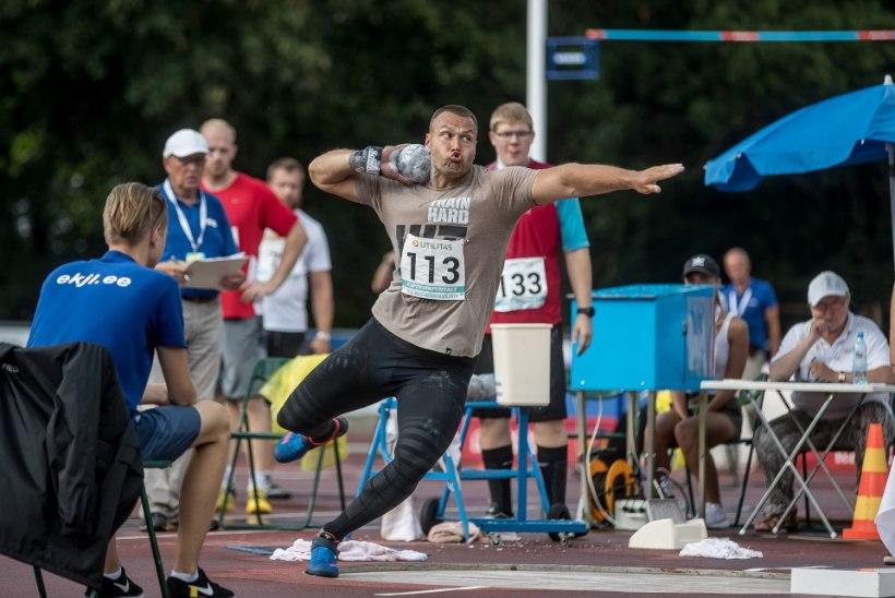 VIDEO | ÜLIVÕIMAS! Kristo Galeta püstitas kuulitõukes uue Eesti rekordi ja täitis MM-normi
