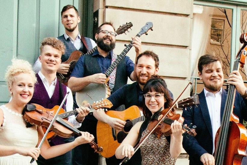 Curly Strings teeb koostööd Kanada ansambliga: peame Skype'i teel koosolekuid ja vahetame internetis muusikat