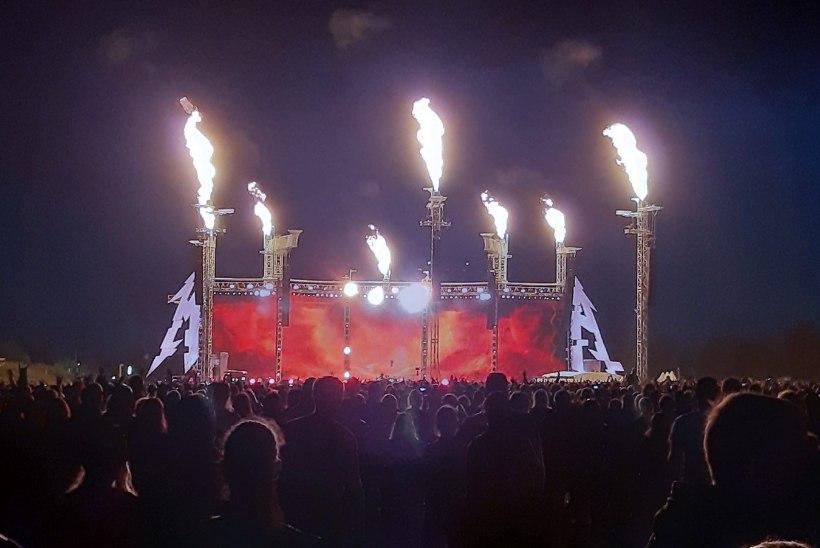 KUULA | Metallica kaverdas idanaabrite kontserdil tuntud bändi hittlaulu
