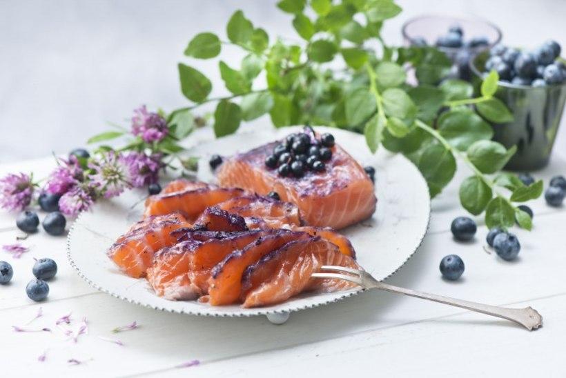 MARJAMAITSELINE KALAPÄEV: imeilus ja maitsev mustikalõhe