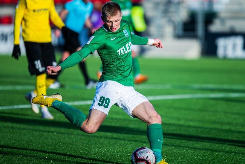 HUVITAV: Flora mängumees avaldas, palju Eestis mängivad jalgpallurid teenivad