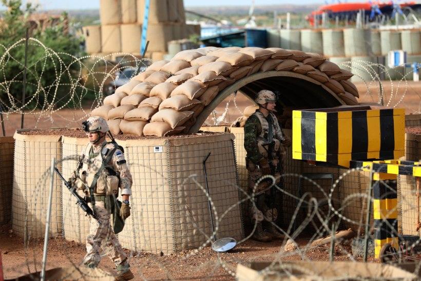 Malis sai terroristide rünnakus kuus Eesti sõdurit vigastada