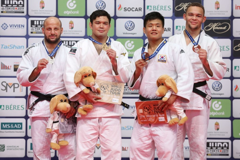 Maailmameistrist jagu saanud Minaškin talletas Eesti judoajalukku ilusa peatüki