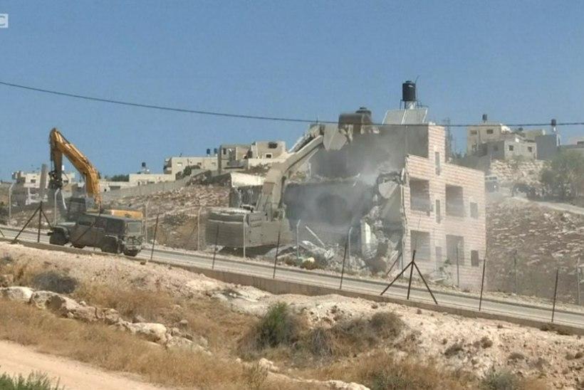 VALES KOHAS! Iisrael lammutas palestiinlaste kodud