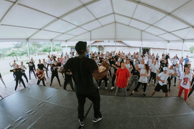GALERII JA VIDEO | Camp of Hip-Hop elustiililaager sai alguse maailmakuulsa Elena Fraulese tantsukoolitusega