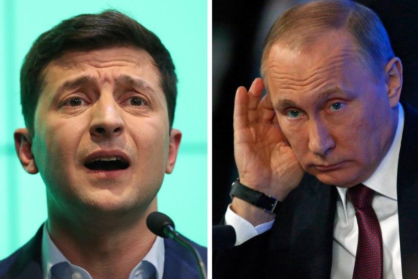 UKRAINA PARLAMENDIVALIMISED: Zelenskõi võitis ja Putin kaotas